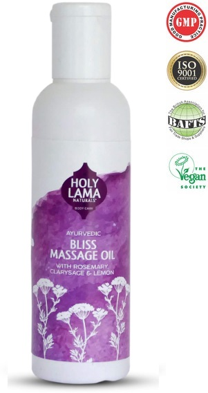 Bliss Massage Oil Calming Body Massage Oils